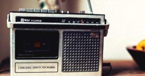 ラジオが助けてくれる