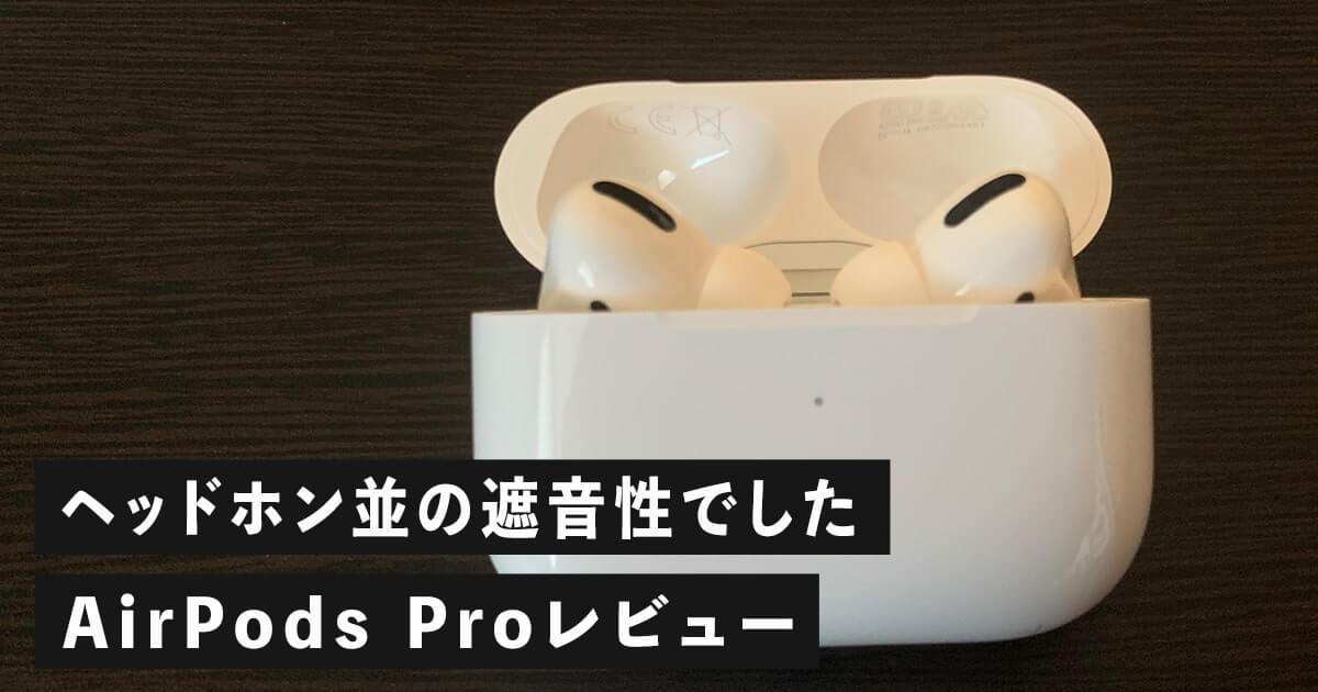 AirPods Proの見た目
